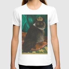 DONETE, A FANCY CHOCOLATE PERSIAN CAT T-shirt