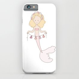 Mermaid Garland iPhone Case