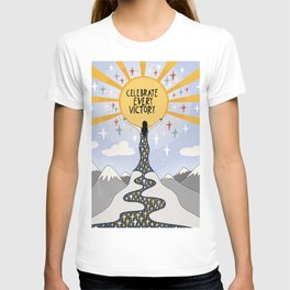 Celebrate every victory T-shirt
