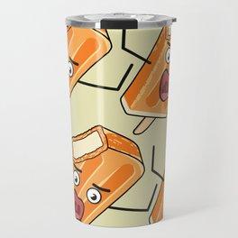 Orange Scream! Travel Mug