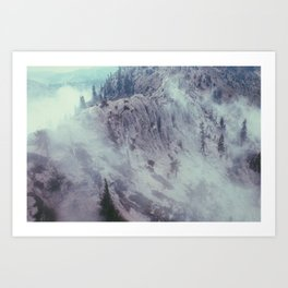 Rolling Mountains Art Print
