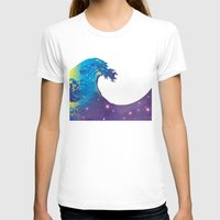 hokusai T-shirts featuring Hokusai Universe by FACTORIE