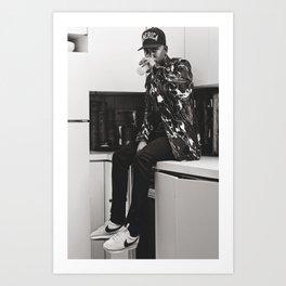 sip Art Print