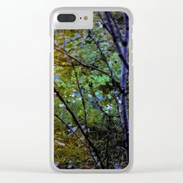 In Between Seasons Clear iPhone Case