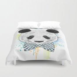 Hello Panda Duvet Cover