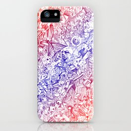 Rizoma color iPhone Case