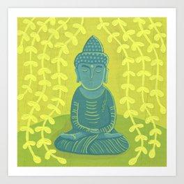 Buddha B Art Print