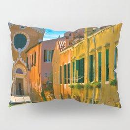Italy. Venice motorway Pillow Sham