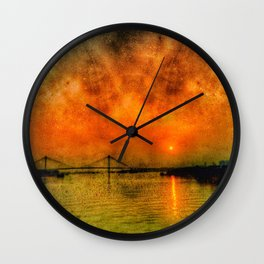 River Hugli - India Wall Clock