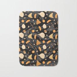 Snack Food Marble Bath Mat