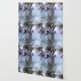 Amethyst Crystal Geode Wallpaper