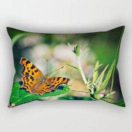 Comma Butterfly Rectangular Pillow