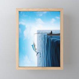Fisherman's Edge Framed Mini Art Print