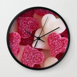Gummy Hearts 2 Wall Clock