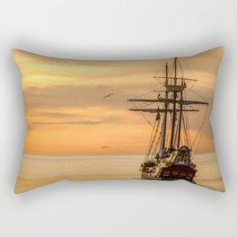 Sailing ship Rectangular Pillow