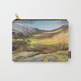 Nant Ffrancon Valley In Snowdonia Carry-All Pouch