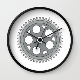 Vintage Single Ring Crank Retro Wall Clock