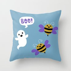 BooBees! Throw Pillow