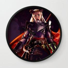 Dragon Age Inquisition - Eva the Qunari warrior Wall Clock