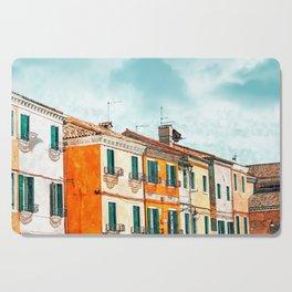 Burano Island #painting #digitalart #travel Cutting Board