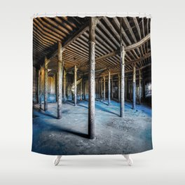 Abandoned Factory Shower Curtain