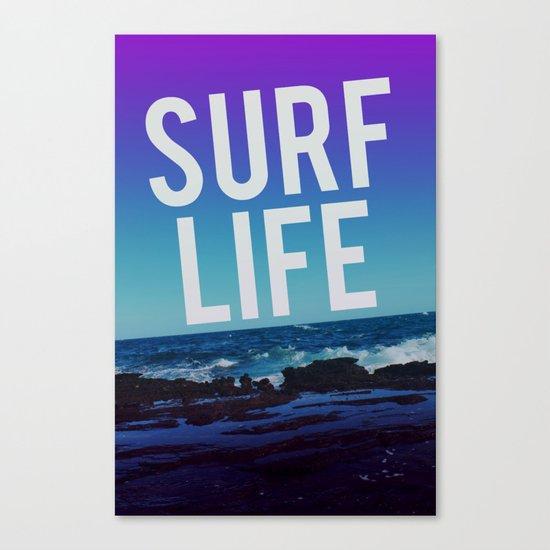 Surf Life Canvas Print