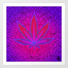 Cannabism Art Print