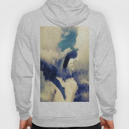 Woman and sky Hoody