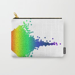 Rainbow Volcano Coral Genes Carry-All Pouch