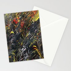 Gravity Painting 12 Stationery Cards
