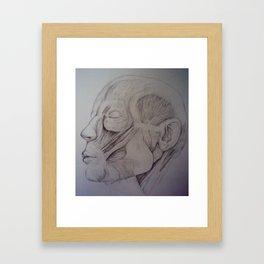 Anatomy -Inspired By Jeno Framed Art Print