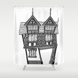 The gateway House Shower Curtain