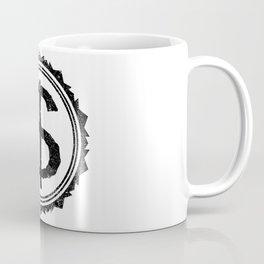 Dollar Rubber Stamp Coffee Mug
