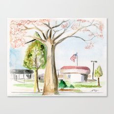 A Peaceful Afternoon Canvas Print