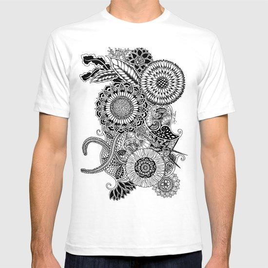 Botanical tangle01 T-shirt