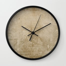 San Francisco News Wall Clock