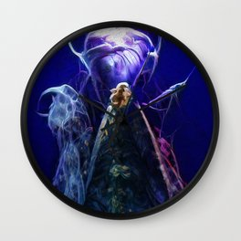 Unknown Life Form Wall Clock