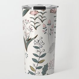 Winter Flowers II Travel Mug