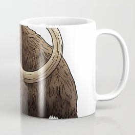 Woolly Elephant from ice age Gift idea for Prehistoric Lover T-Shirt Coffee Mug