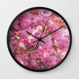 Flower Photography by Lumina Wall Clock
