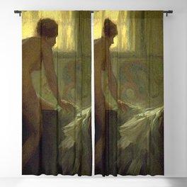 C F Goldie - La Femme au Bain Blackout Curtain