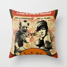 Boxe Throw Pillow
