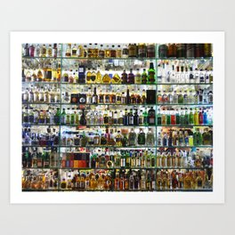 bottled happiness Art Print