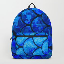 scales pattern home decor Backpack