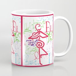 Mother Universe Love, Laugh, and Dream Coffee Mug