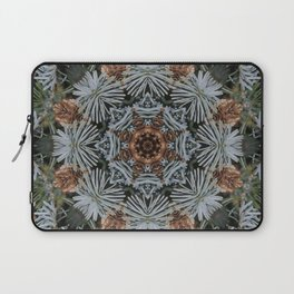 Spruce Cones And Needles Kaleidoscope K4 Laptop Sleeve