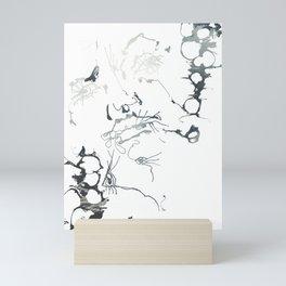 Splash out look Mini Art Print