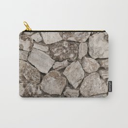 Old Rustic Stone Wall Carry-All Pouch