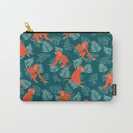Monkey Forest Carry-All Pouch