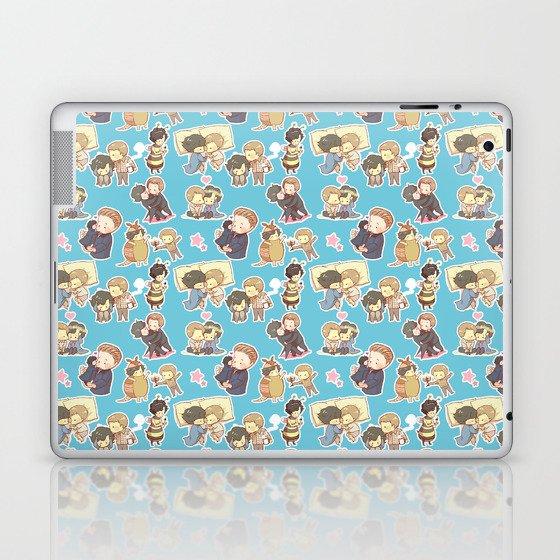 Chibilock Pattern Laptop & iPad Skin